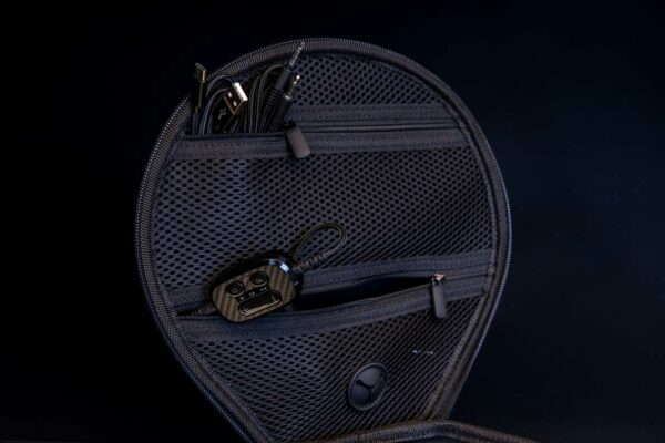 Inside Headphone case