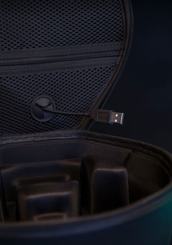 The Haymaker Headphone Case with USB Port
